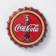 Placa Cerâmica Decorativa de parede Coca Cola 22 cm