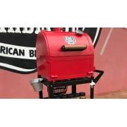 Defumador Smoker Sugar Vermelho Kings Barbecue
