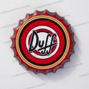Placa Cerâmica Decorativa de parede Duff 22 cm