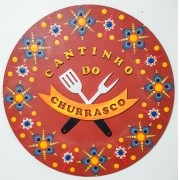 Placa Decorativa Cantinho do Churrasco Pintura Livre 35 cm CC-30