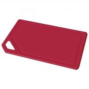 Tábua de Corte Mixcolor Polipropileno Vermelho Tramontina 29 x 20 cm