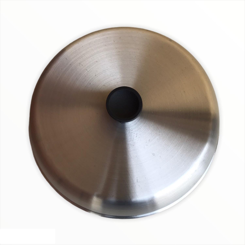 Abafador de Beirute e Lanches em Alumínio 23 cm