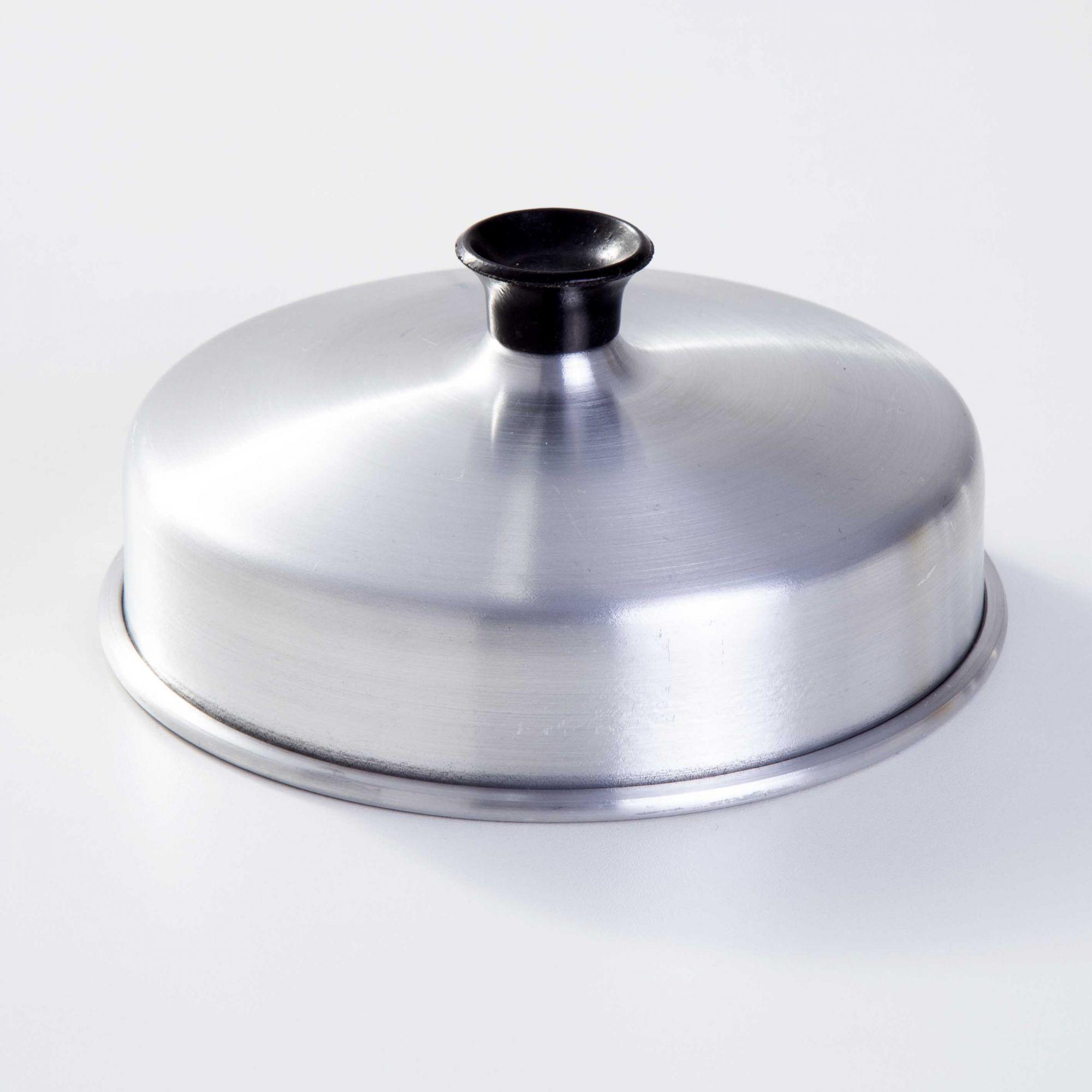 Abafador de hambúrguer em Alumínio 16 cm
