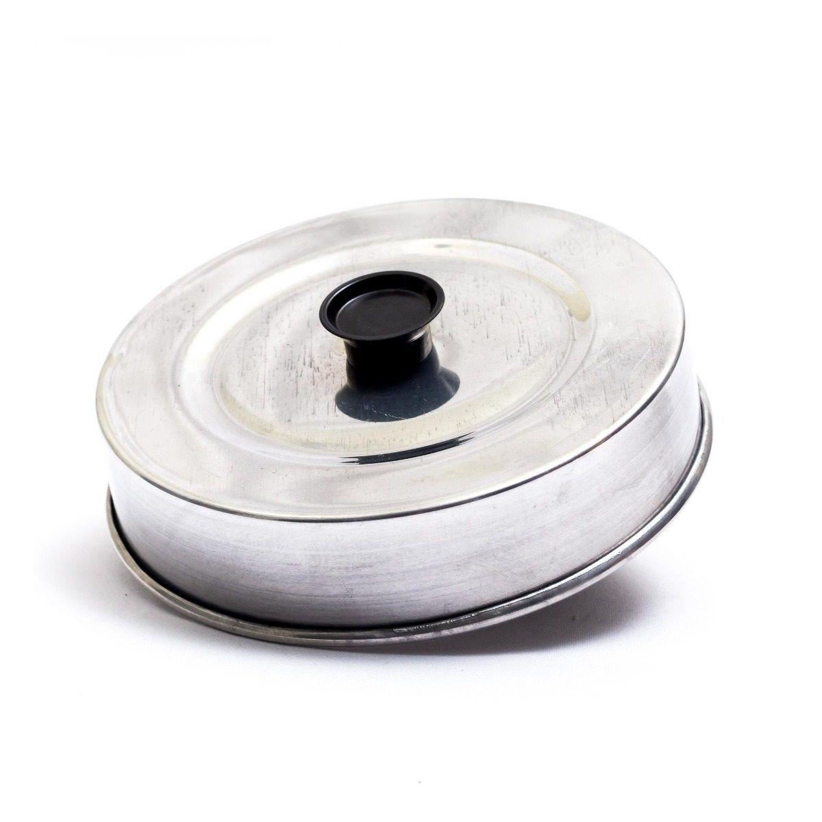Abafador de hambúrguer em Alumínio 17 cm