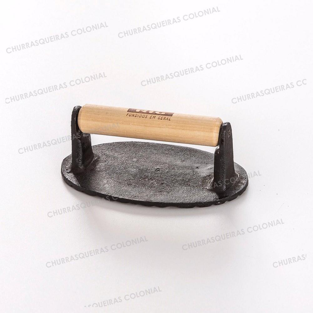 Amassador Prensador de Bifes em Ferro Fundido 750 gramas
