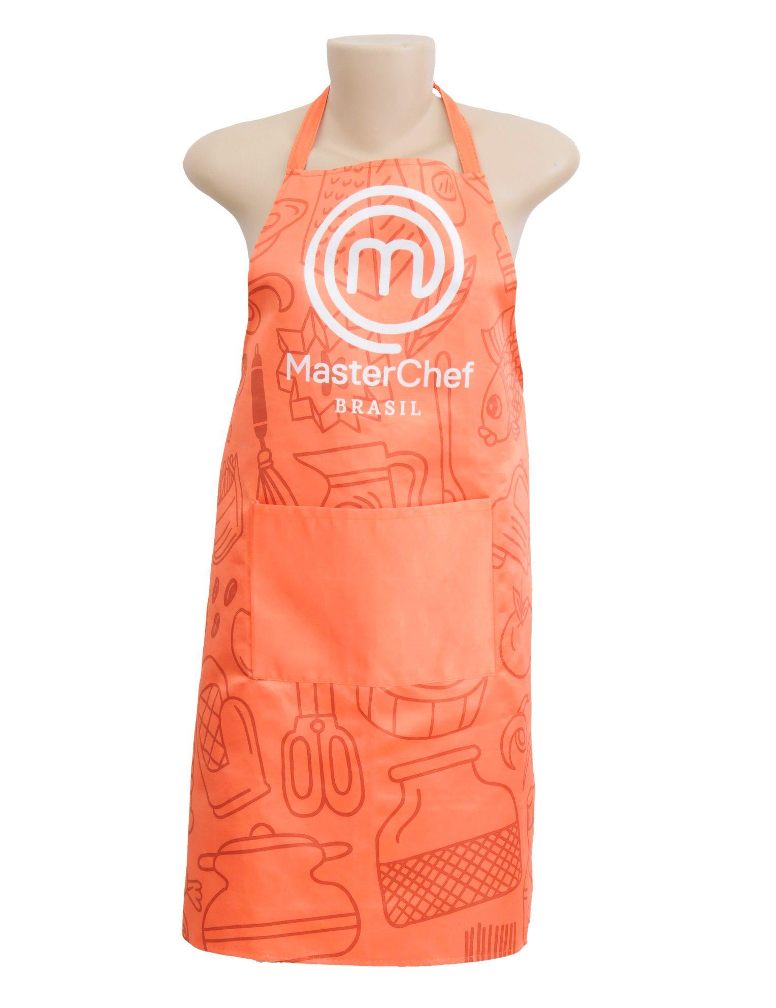 Avental de Cozinha MasterChef Laranja