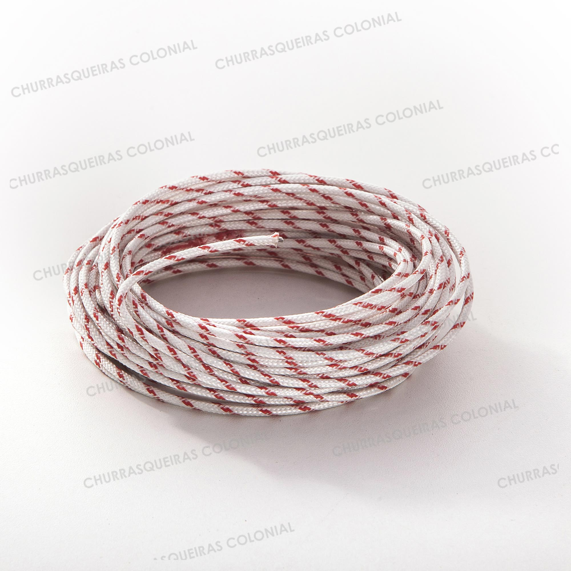 Cabo Semi Flexível 1,5 mm² Hibrido Fibra Silicone 10 metros