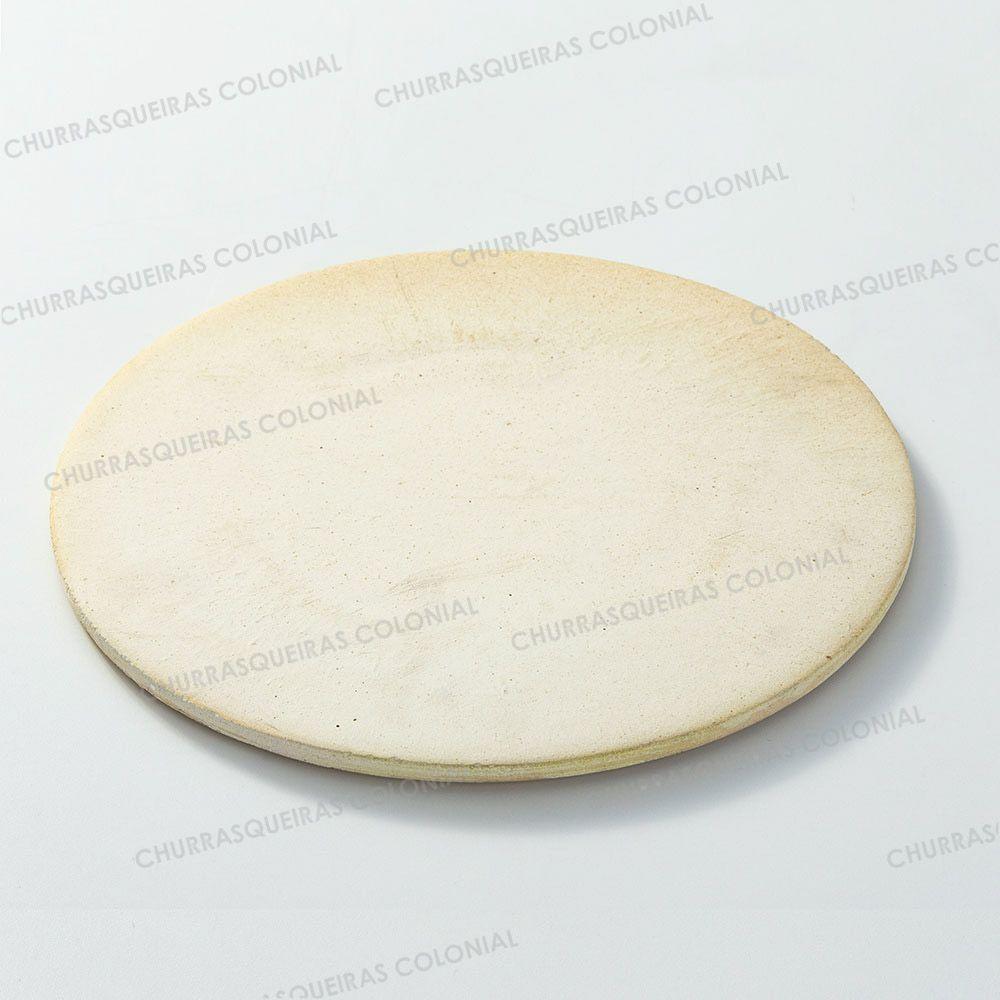 Pedra Refratária para Pizza e Pão Disco 30 cm
