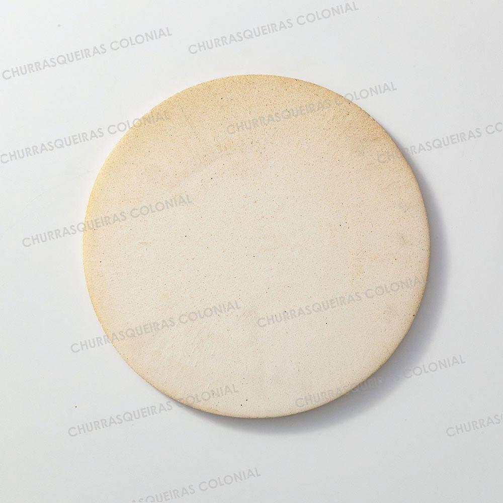 Pedra Refratária para Pizza e Pão Disco 35 cm