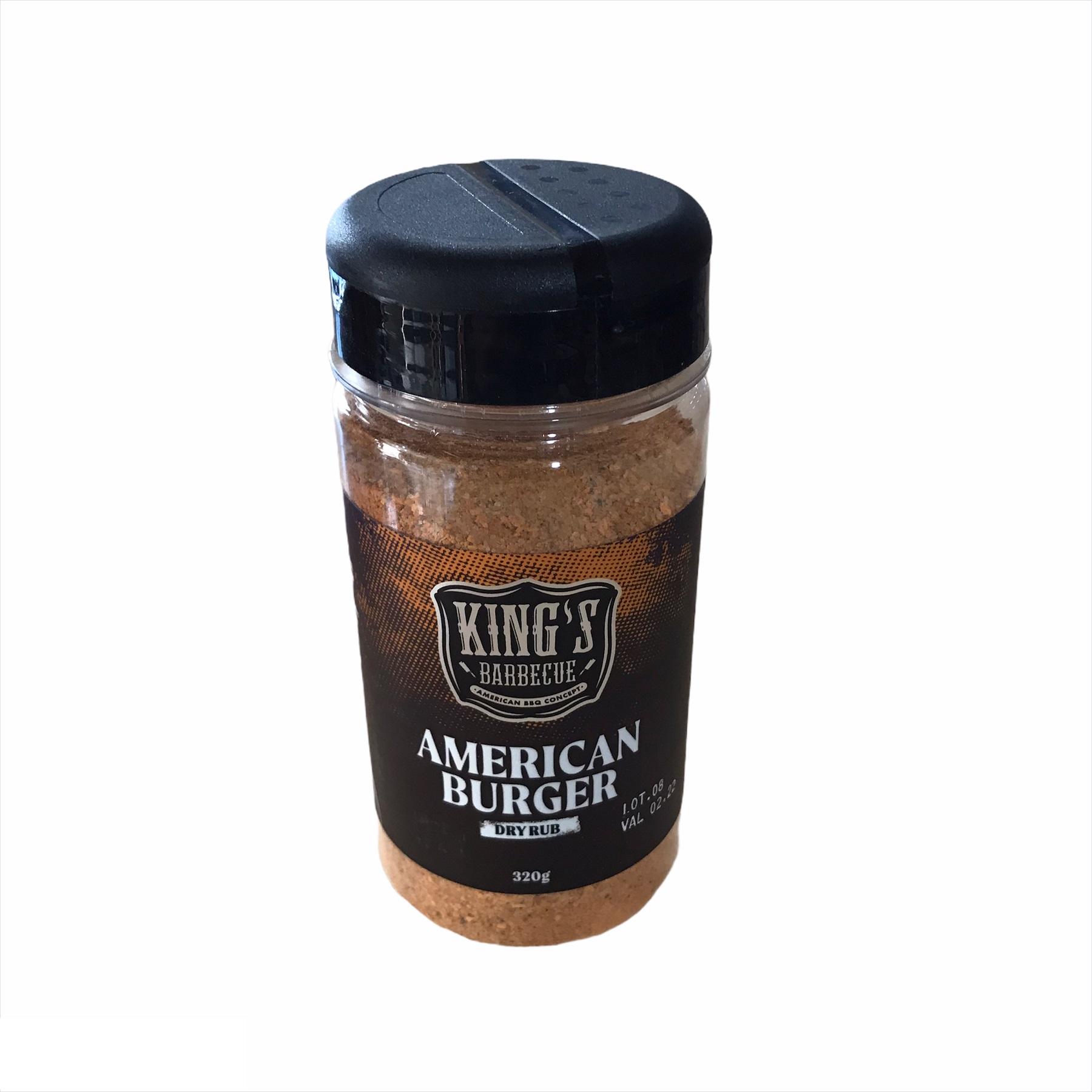 Dry Rub American Burguer 320 gramas Kings Barbecue