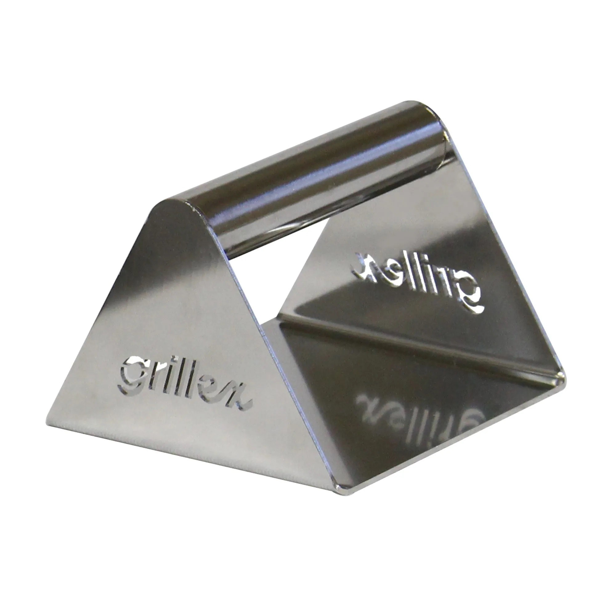 Espátula Grillex Smash para hamburguer Ultra Inox 450 gramas