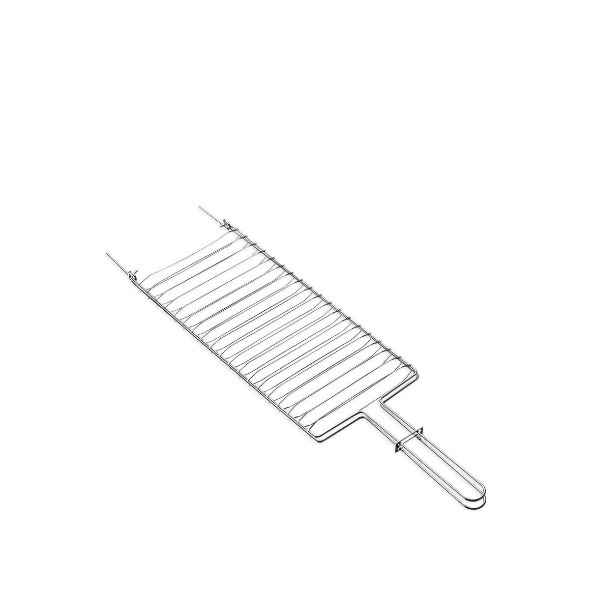 Grelha Plana Aço Inox 56 x 16 cm Tramontina