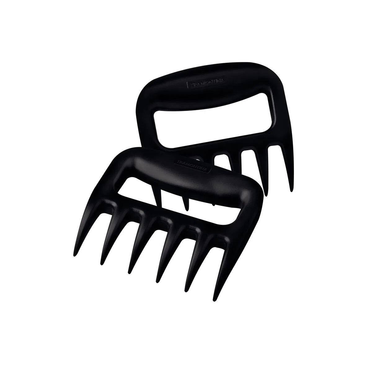 Jogo de Garras Multiuso para Churrasco Black em ABS 02 Peças Tramontina
