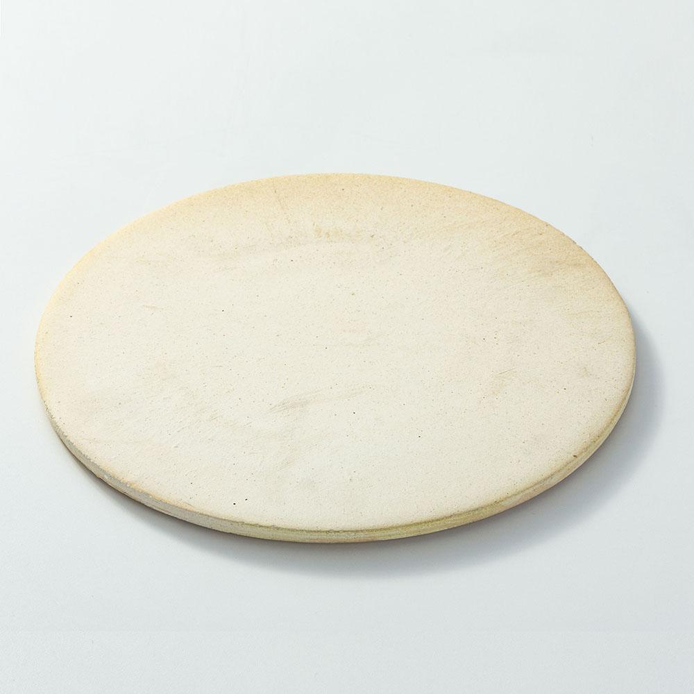 Kit para Pizza na Churrasqueira com Placa Refratária Pá e Abafador em Alumínio 3 peças