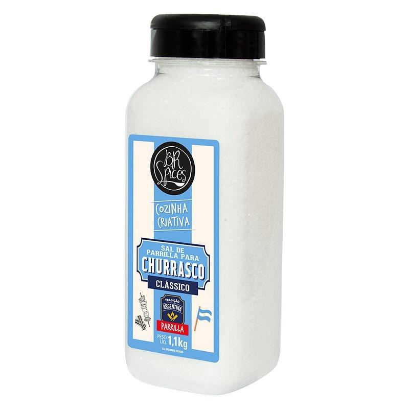 Kit Sal de Parrila e Dry Rub para Churrasco 2 peças BR Spices
