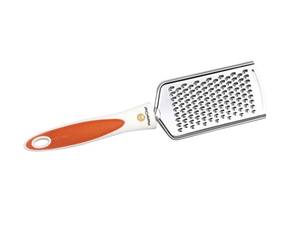 Mini Ralador Manual Plano Gastronomie Aço Inox 24,5 cm Branco