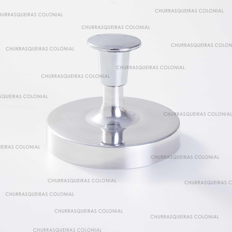 Modelador de Hamburguer Forma 12 cm Alumínio