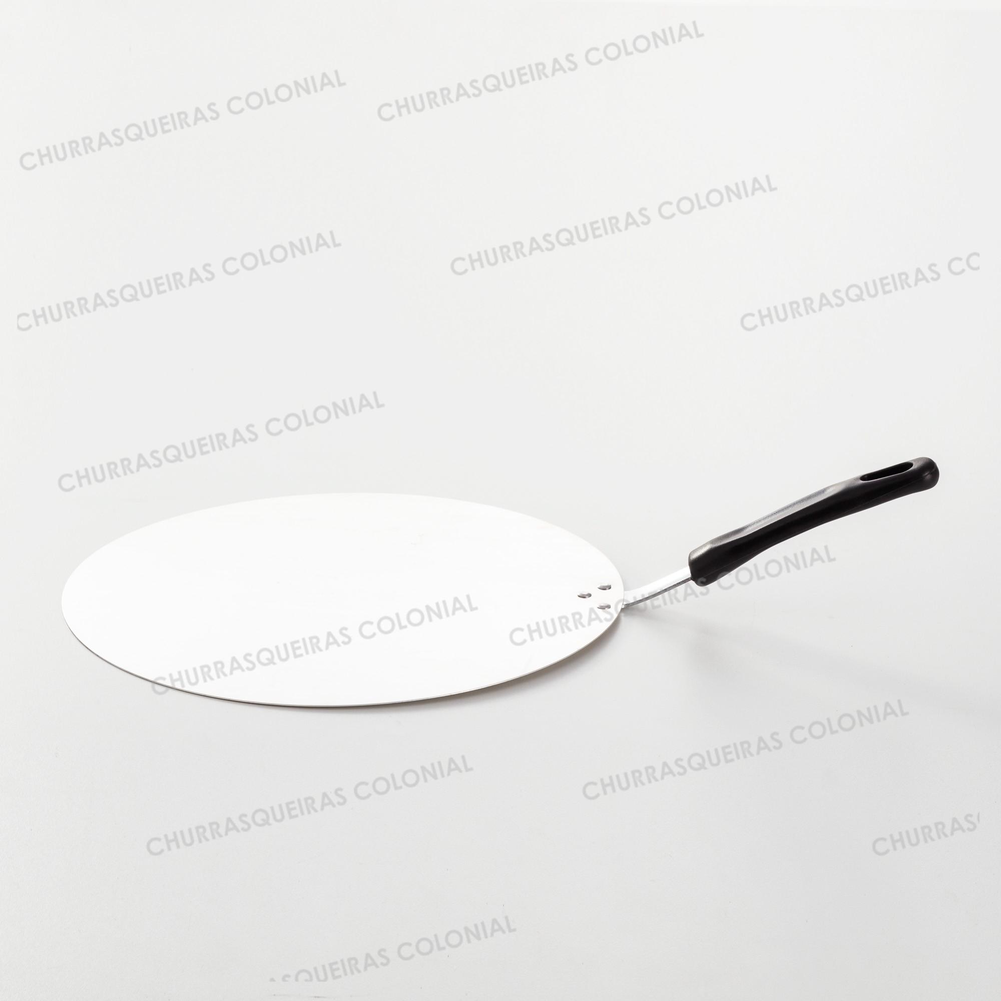 Pá para Pizza de Alumínio 35 cm Cabo PP preto
