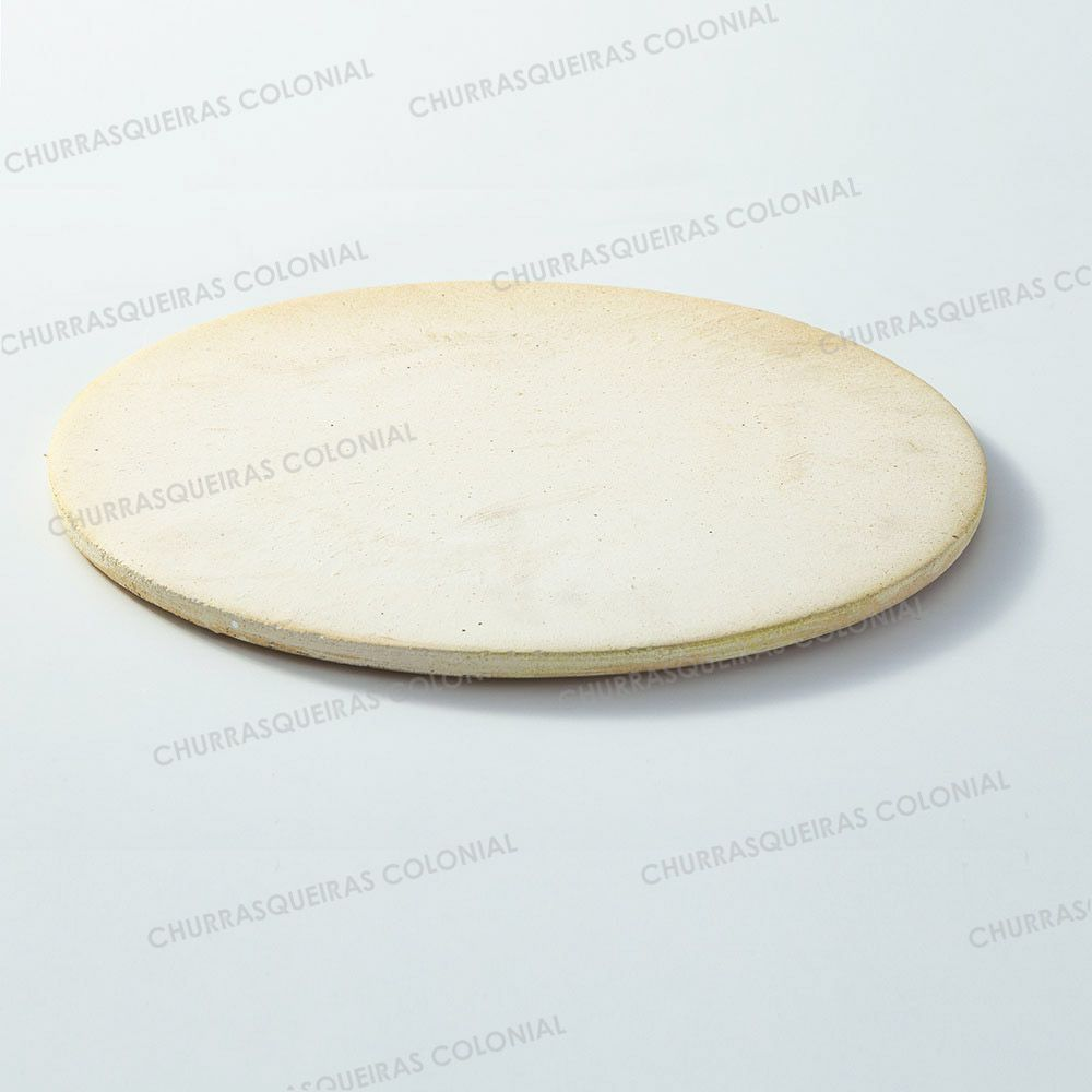 Pedra Refratária para Pizza e Pão Disco 37 cm