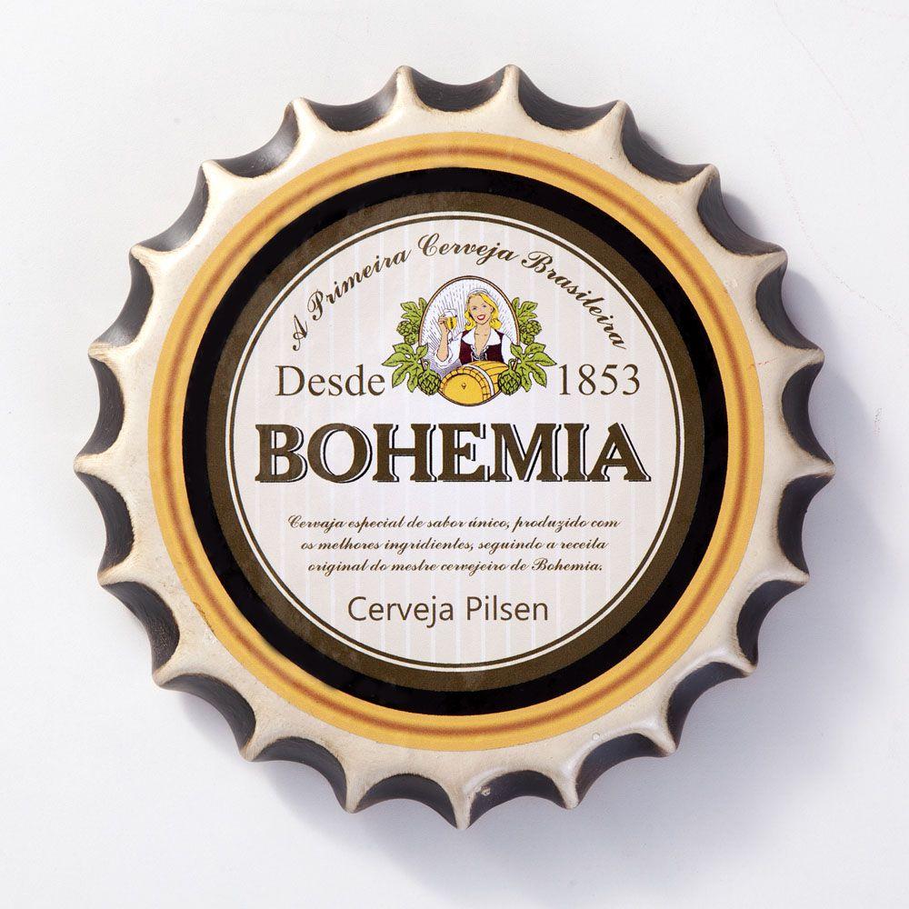 Placa Cerâmica Decorativa de parede Bohemia 22 cm