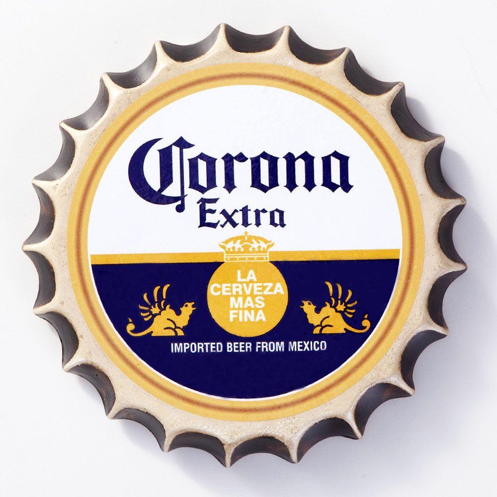 Placa Cerâmica Decorativa de parede Corona 22 cm