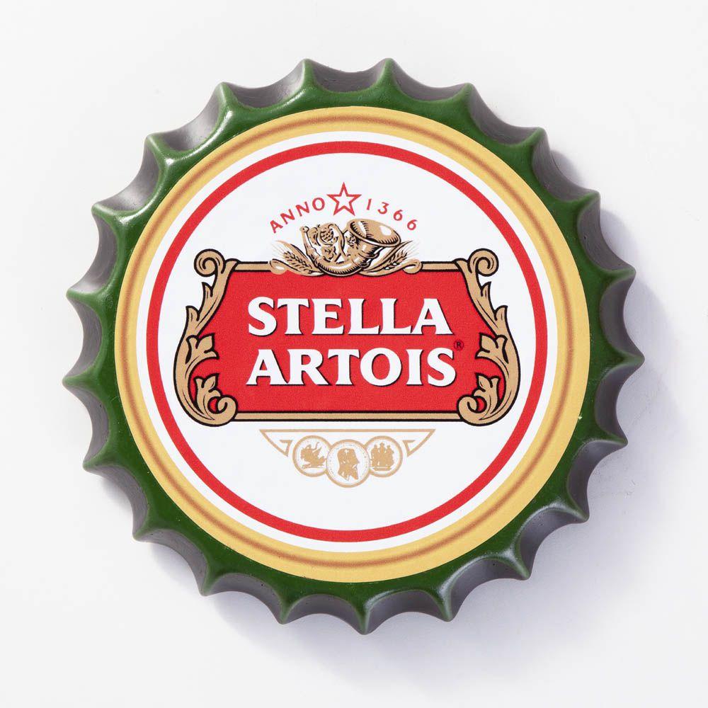 Placa Cerâmica Decorativa de parede Stella Artois 22 cm