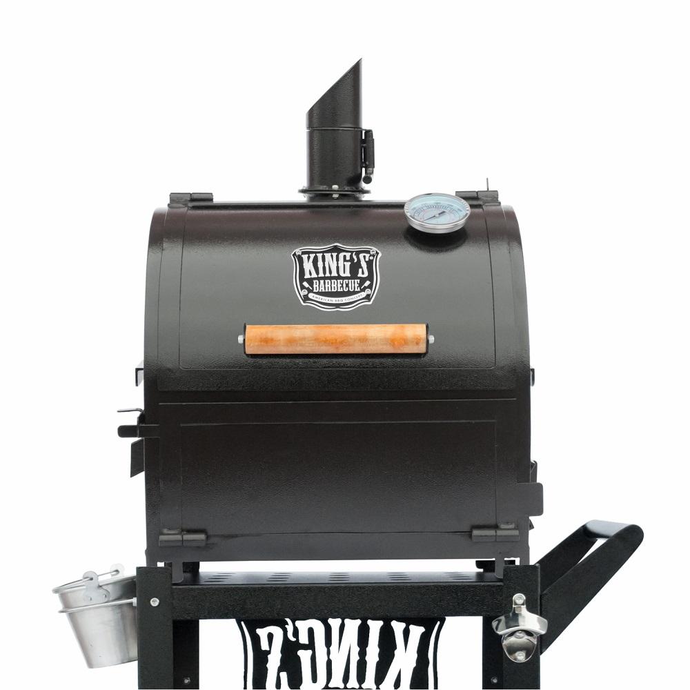 Smoker Sugar Preto Texturizado Kings Barbecue