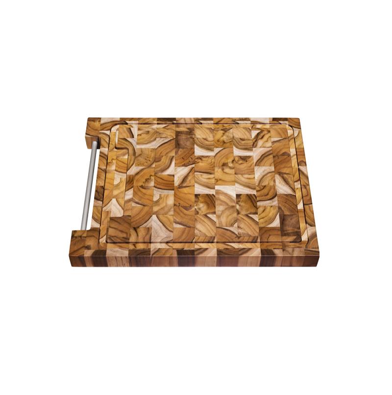 Tábua para Churrasco Tramontina 48 x 36 cm Madeira Teca