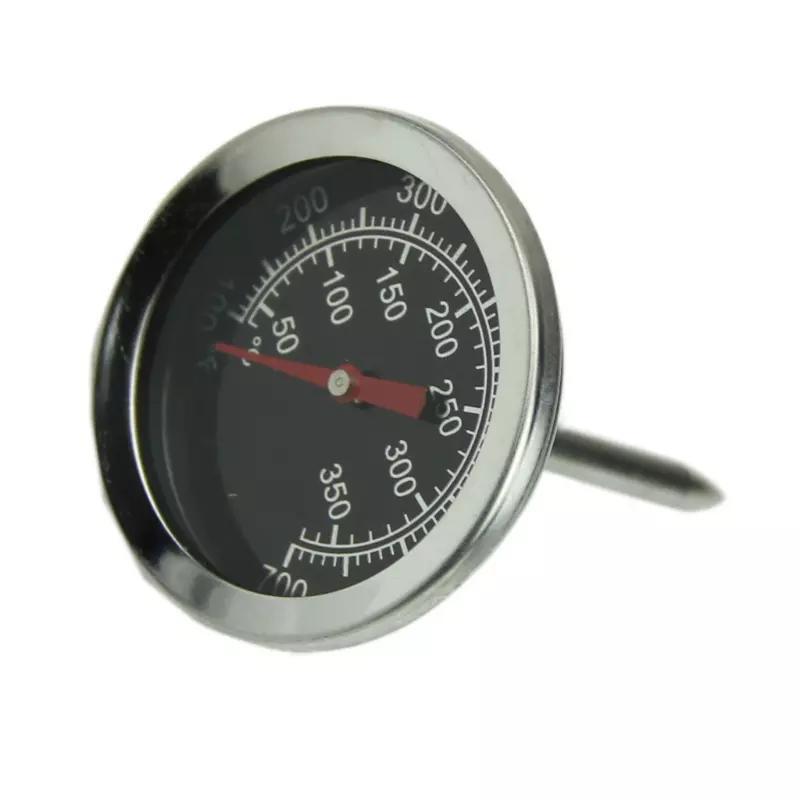 Termômetro Analógico Aço Inox 350°C Haste Curta