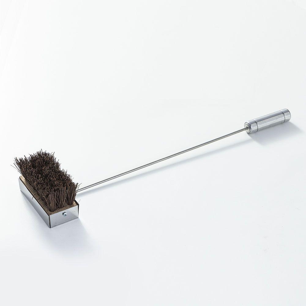 Vassoura para Limpeza de Forno Iglu em Piaçava e Haste em Aço Inox