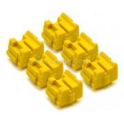 Kit Bastões Cera Compatível Xerox Colorqube 8570 Amarelo (6 unidades)