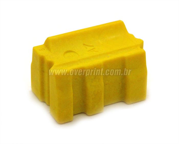 Bastão Cera Compatível Xerox Colorqube 8860 Amarelo - Overprint