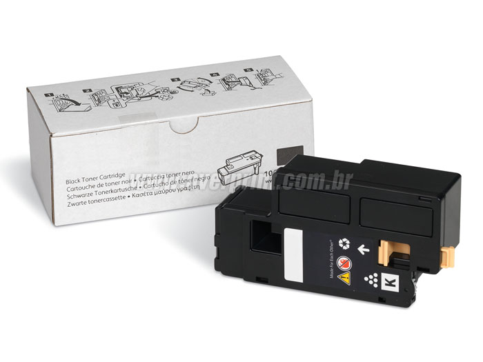 Cartucho Toner Xerox Phaser 6000 / 6010 Compatível - Overprint