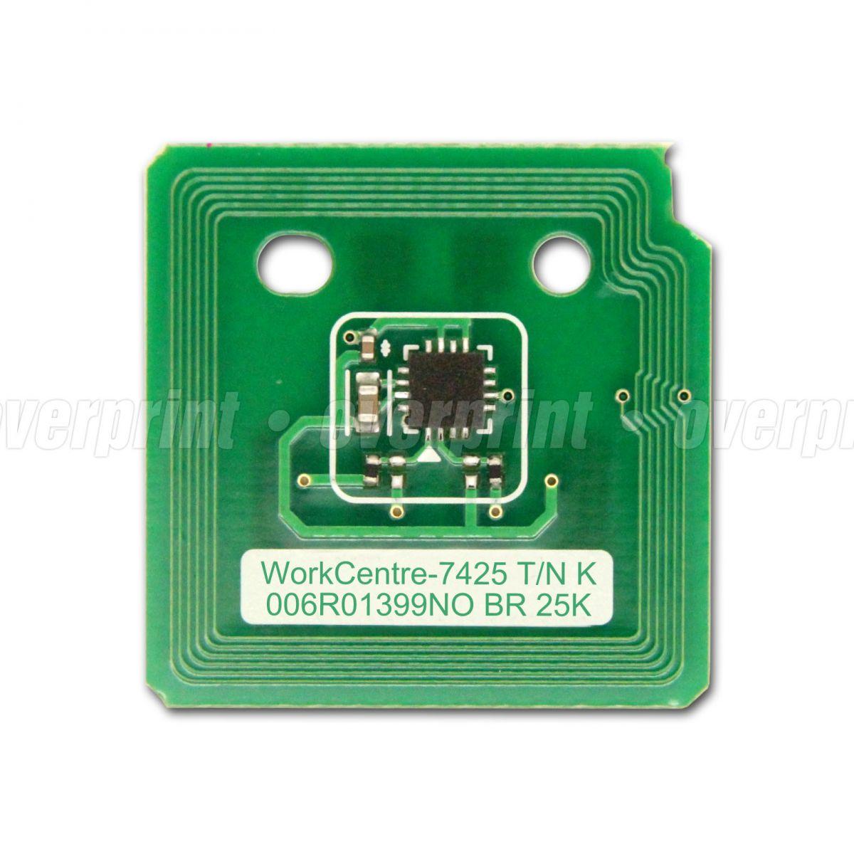 Chip Toner Xerox Workcentre 7425/7428/7435 - Overprint
