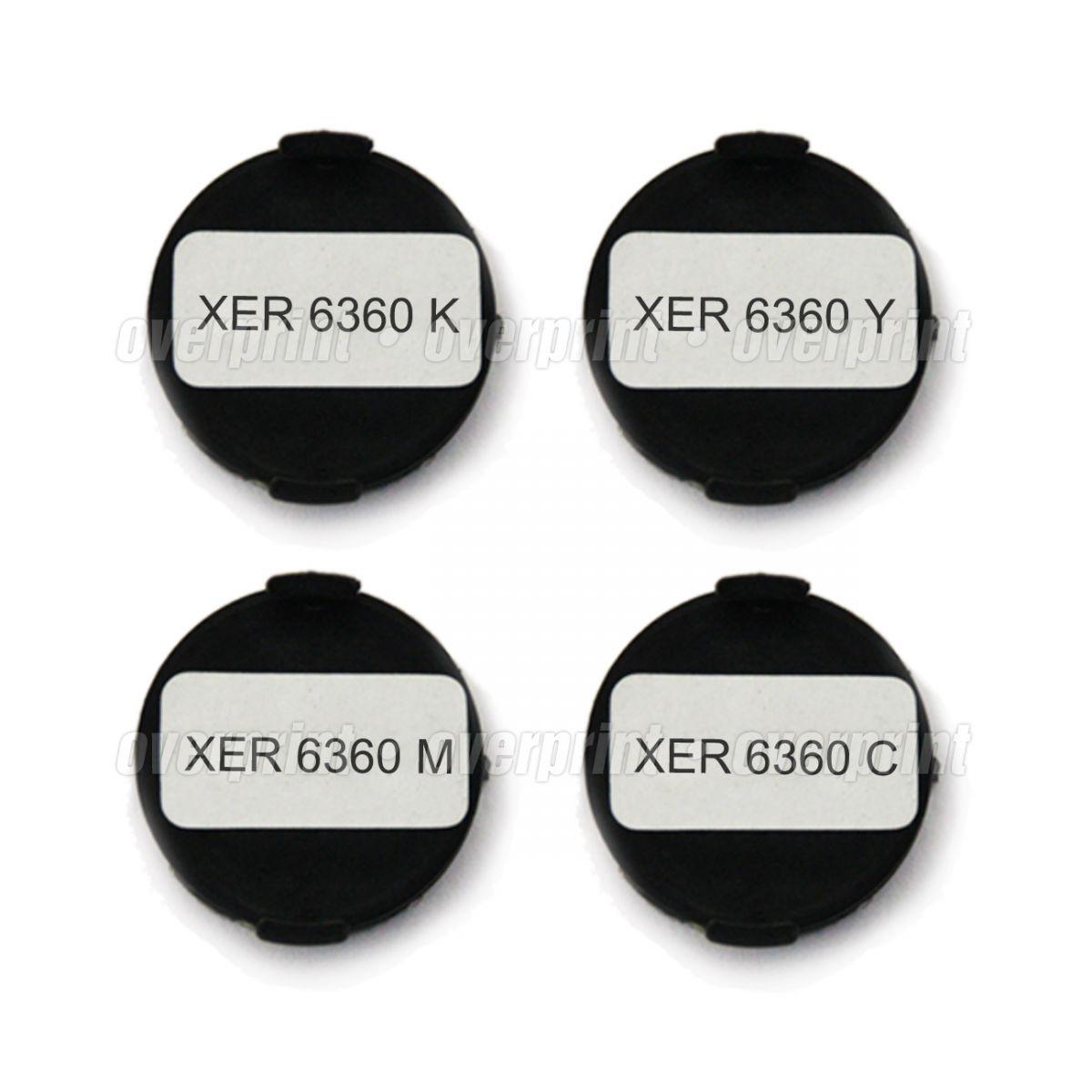 Kit Chip Toner Xerox Phaser 6360 - Overprint