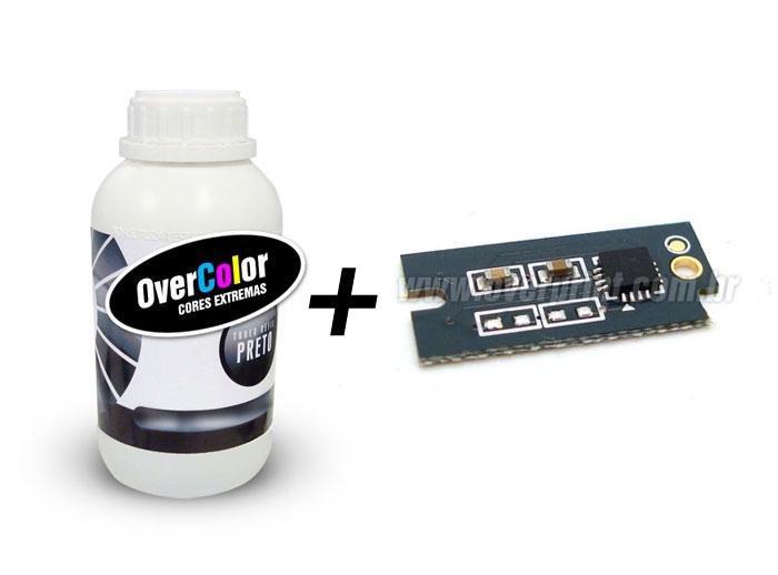 Kit recarga toner + chip Xerox Workcentre 3010 | 3040 | 3045 - Overprint