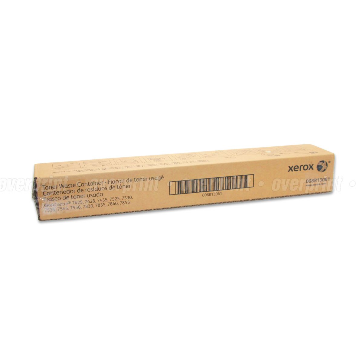 Recipiente de Toner (Waste Toner) Xerox Original (Novo) - WorkCentre 7525/7530/7535/7545/7556 - Overprint