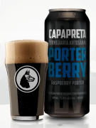 Cerveja Capa Preta Porter Berry 473ml
