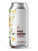 Cerveja Ux Brew Milk Drops Manga e Kiwi 473ml