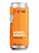 Cerveja Ux Brew Three Monkeys Beer Spike Monkey Business 473ml