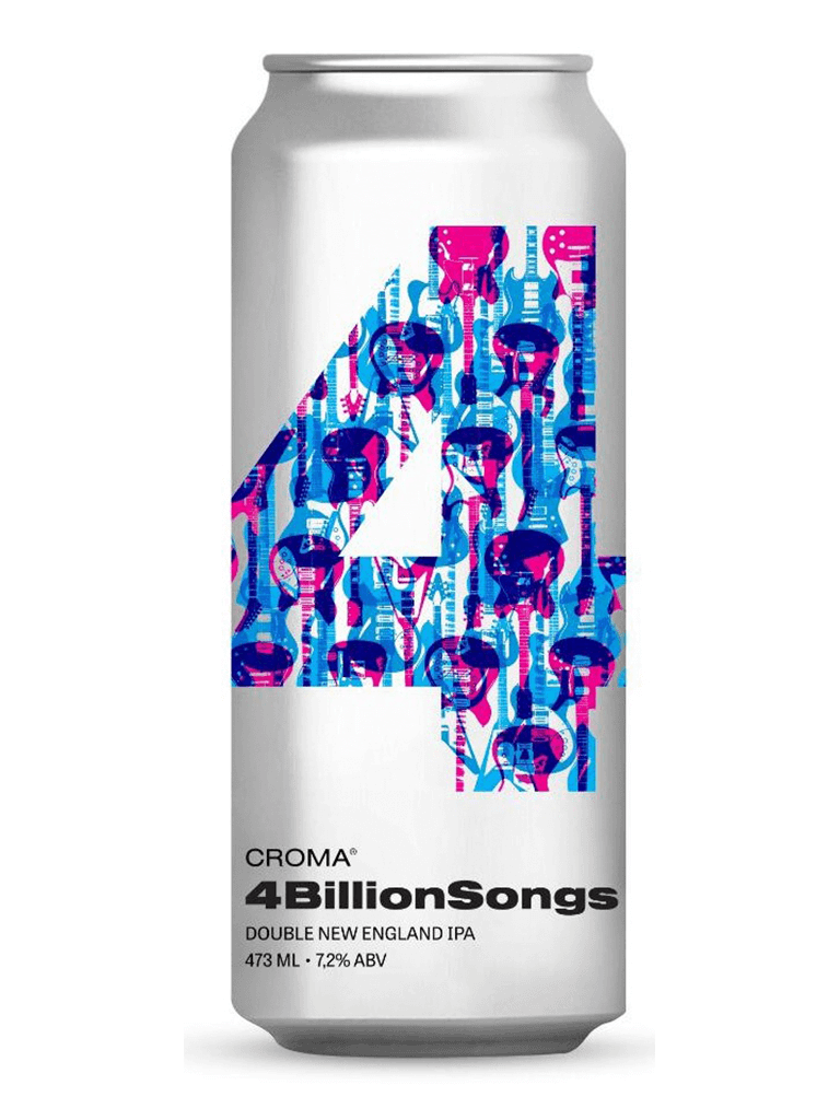Cerveja 4 Billion Songs Croma 473ml