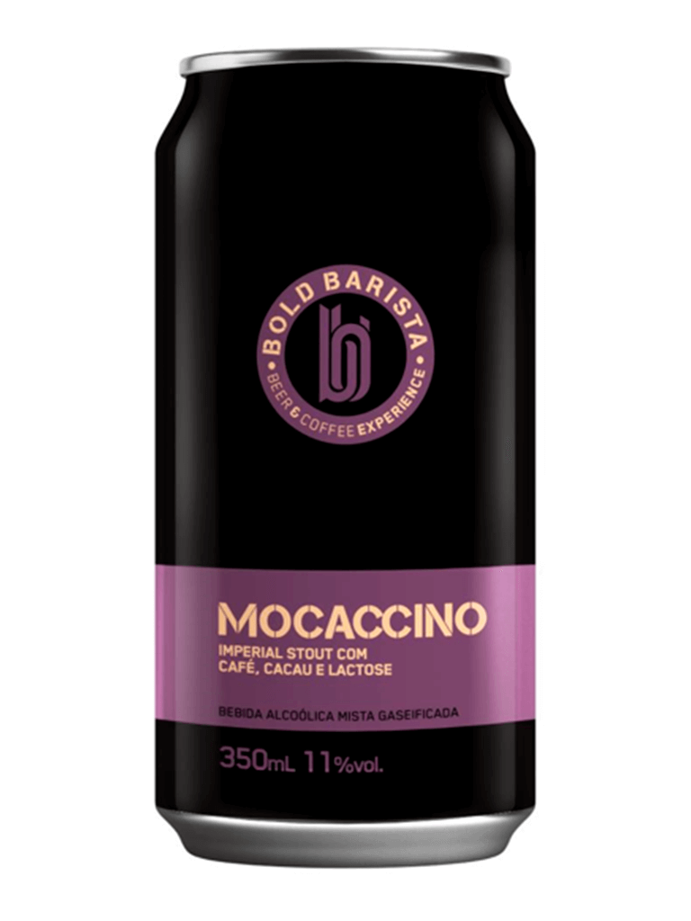 Cerveja Bold Brewing Barista Mocaccino 350ml