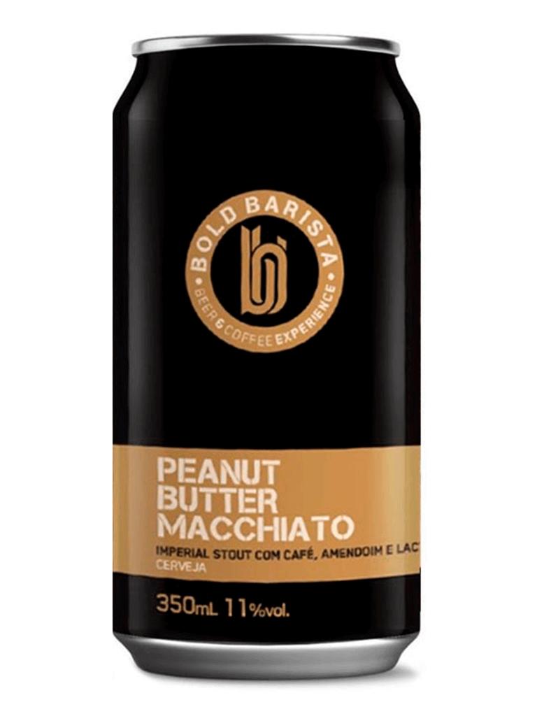 Cerveja Bold Brewing Barista Peanut Butter Machiatto 350ml