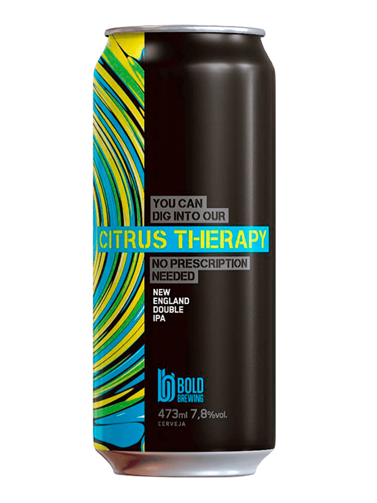 Cerveja Bold Brewing Citrus Therapy 473ml