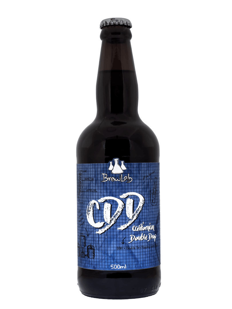 Cerveja California Double Drop (CDD) Brewlab 500ml