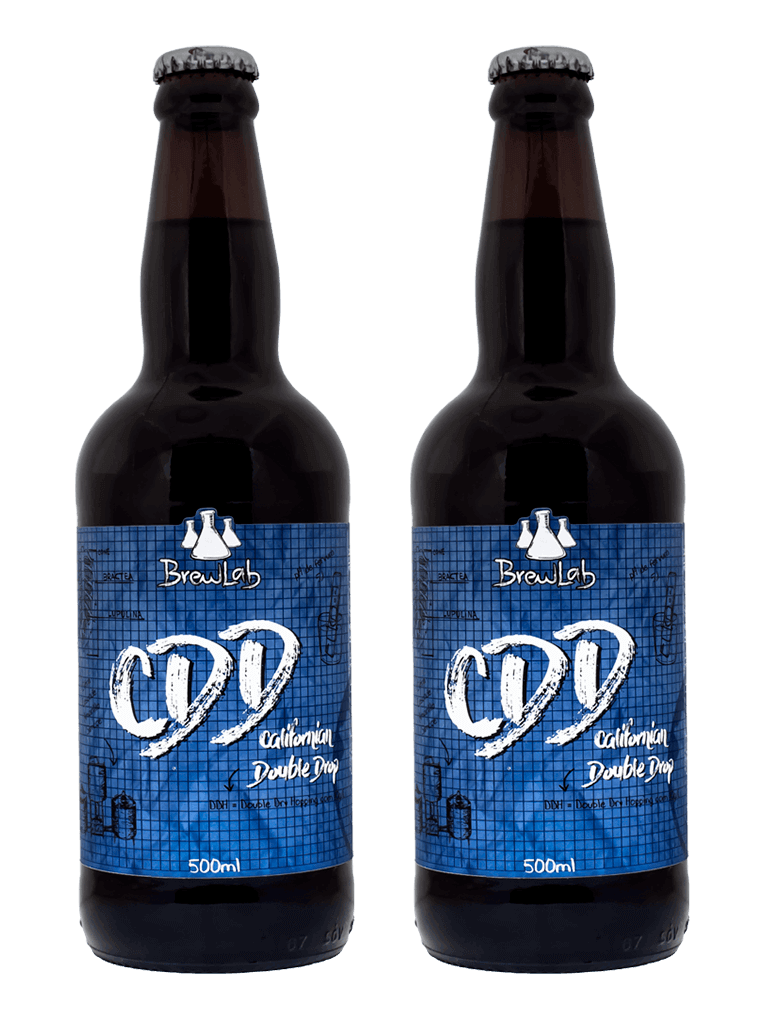 Cerveja Brewlab Californian Double Drop (CDD) 500ml - Compre 1 leve 2