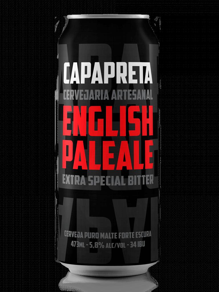 Cerveja Capa Preta English Pale Ale 473ml