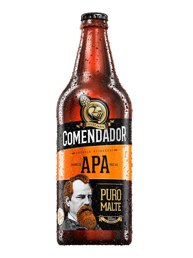 Cerveja Comendador APA 600ml