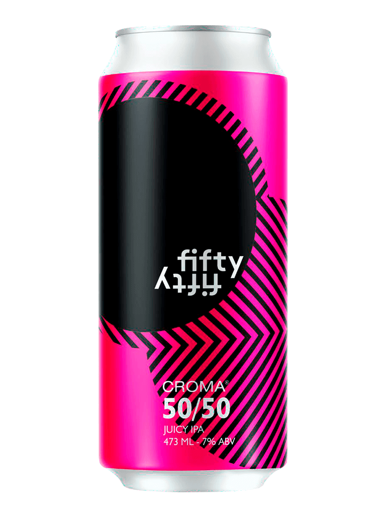 Cerveja Croma Fifty Fifty 473ml