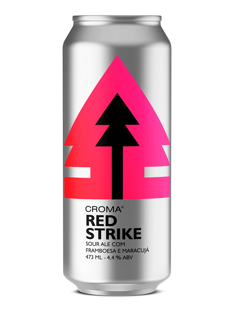 Cerveja Croma Red Strike 473ml